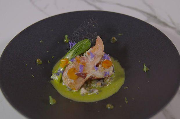 Z-Mastercooks (vidéo): Les chefs Jan Wirix (Carpe Diem) et Lionel Rigolet (Comme Chez Soi) et sa recette