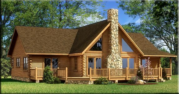 164 Best Images About Log Cabin Homes On Pinterest