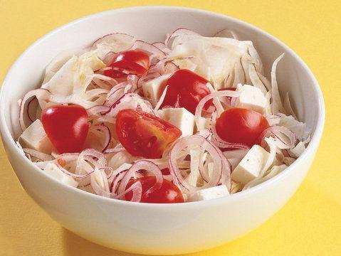 Düşük Kalorili Nefis ''Peynirli Krokan Salata'' Tarifi...   #food #cooking #receipt #salad #salata #peynir #diyet #diet #domates #dusuk kalori #yemek tarifi #lacucinaitaliana #la cucina italiana #lciturkiye #yemek tarifi #italyan yemegi #italyan mutfagı