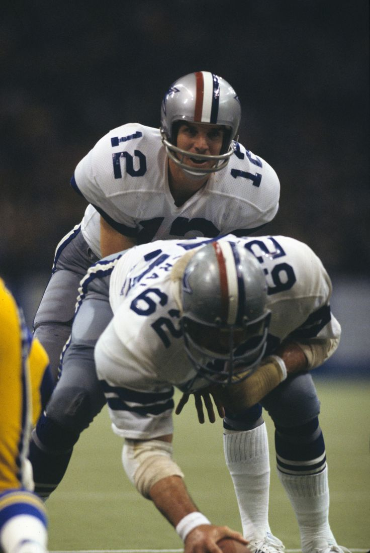 Roger Staubach. Roger the dodger. My all time favorite.  The greatest Cowboy.                                    Godfirst Billionaires Tribe