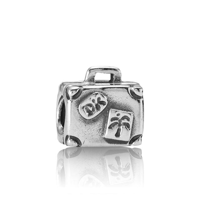 Pandora charm: suitcase
