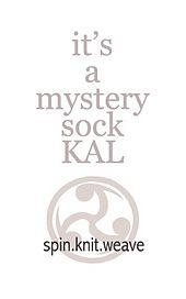 Ravelry: It's a Mystery Sock KAL pattern by Lori Law