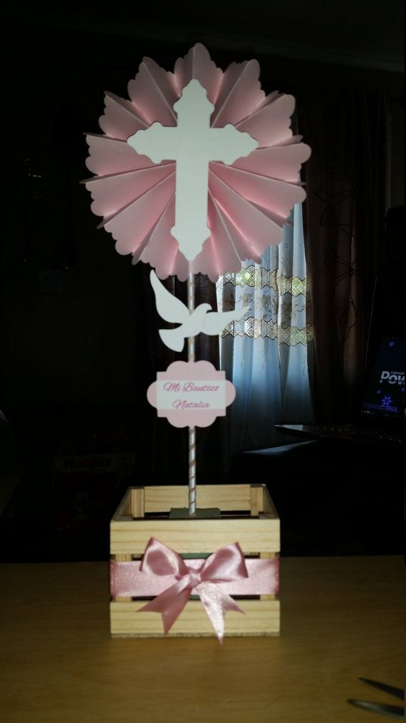 Check out this item in my Etsy shop https://www.etsy.com/listing/242768697/baptism-centerpiece