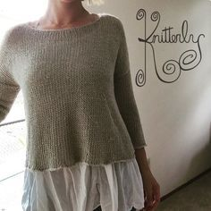Fast and easy to knit, the Leonie pattern by cocoknits is a shop fav! Summer knitting!