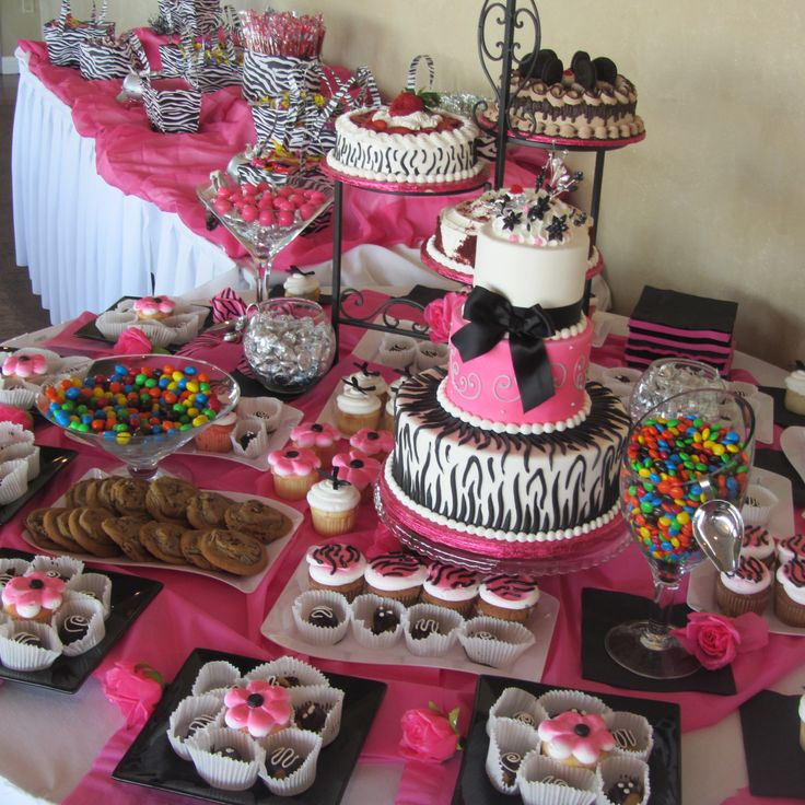 Sweet 16 Table Decoration Ideas table decorations for sweet 16 party ideas of sweet 16 decorations amazing decorations Inexpensive Table Decorations Chocolate Party Pink Themed Wedding