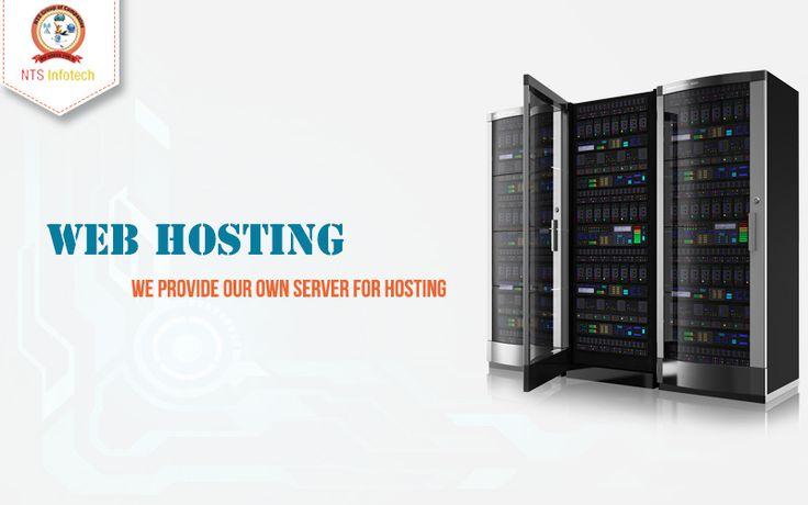 We provide Own Server for Web Hosting. For more www.ntsinfotechindia.com