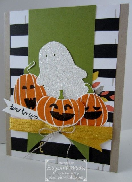stampin up fall fest halloween card - Stampin Up Halloween Ideas