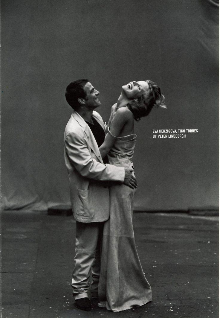BITTER MOON - Eva Herzigova & Tico Torres by Peter Lindbergh...