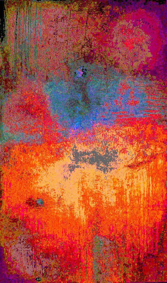 Farben und Strukturen, digitale Versionen meiner Bilder (III)
