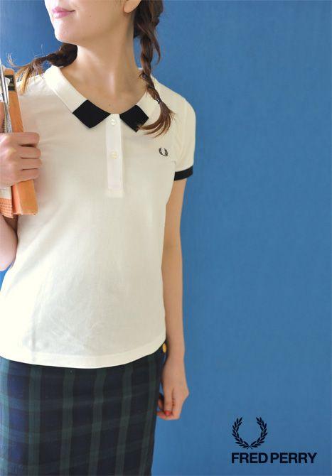 【楽天市場】FRED PERRY フレッドペリー モノトーン ポロシャツ・f5239(全2色)(S・M)【2015春夏】:Crouka(クローカ)
