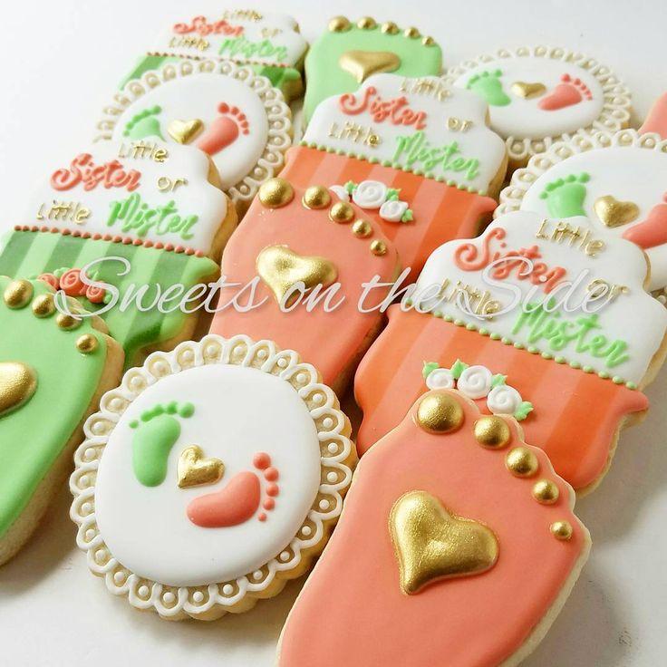 Gender Reveal Cookies by sweetontheside ...