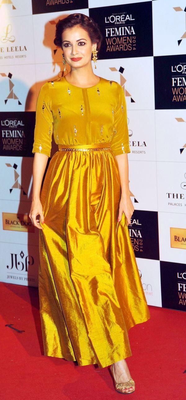 Golden yellow suit
