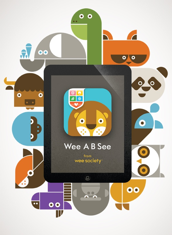 Wee A B See - A fun, surprising and silly learning app for preschoolers.