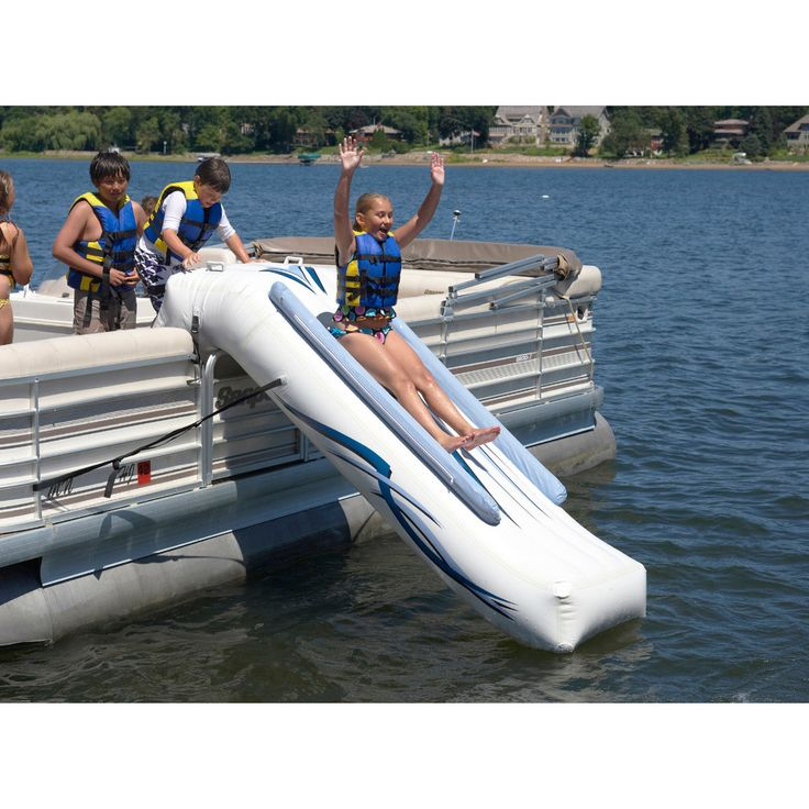 Overton's : Rave Pontoon Slide - Watersports > Trampolines & Water Toys > Water Toys :