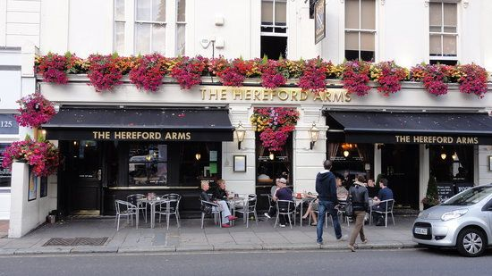 Reserve a table at The Hereford Arms, London on TripAdvisor: See 653 unbiased reviews of The Hereford Arms, rated 4.5 of 5 on TripAdvisor and ranked #219 of 22,240 restaurants in London.