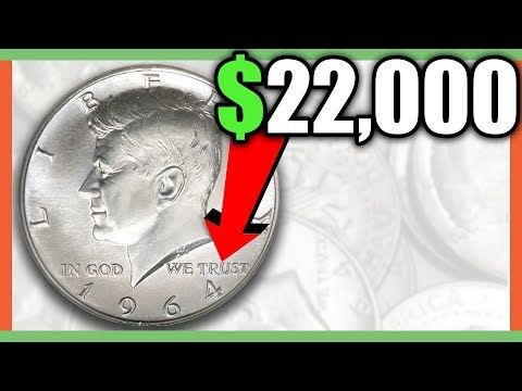The Rarest 1964 Kennedy Half Dollar Sells For 4700000 How To Identify This Valuable Coin