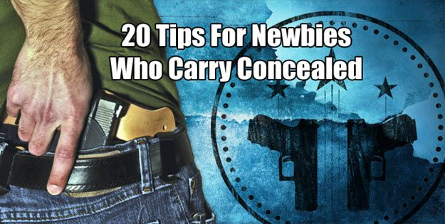 20 Must Know Concealed Carry Tips For New CCW Permit Holders