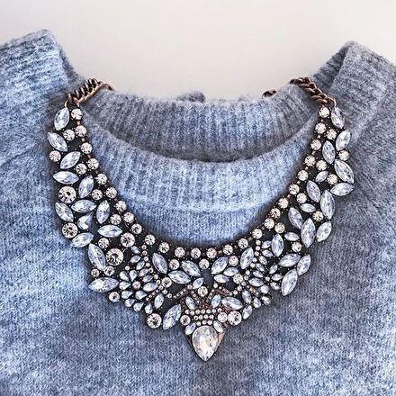 """Auffällige Halskette """"Vintage Glamour"""" – #fashion #fashionista #chic #jewelry"""