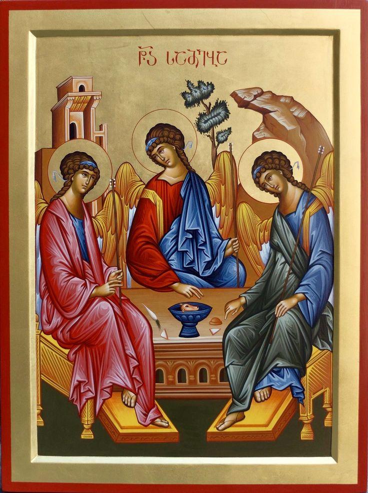 Holy Trinity by Badri Shengelia of Georgia