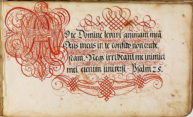 Kalligraphische Schriftvorlagen von Johann Hering zu Kulmbach - Johann Hering 1624-1634 (Bamberg) b by peacay, via Flickr