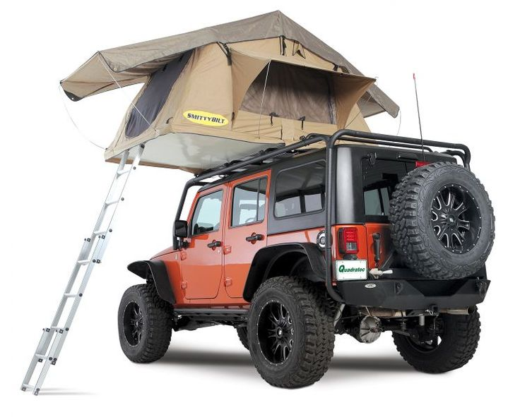 Smittybilt Overlander Tent. I may have to start camping just so i can get this!!!!!!
