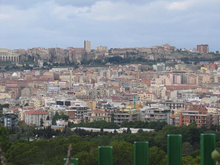 View from Monte Urpinu - Cagliari