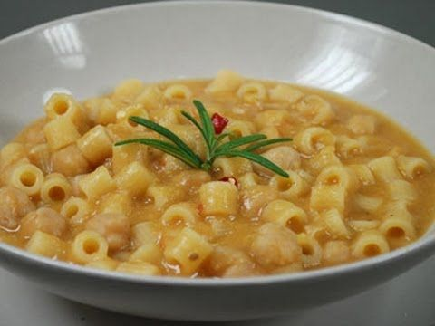 Pasta e ceci - YouTube