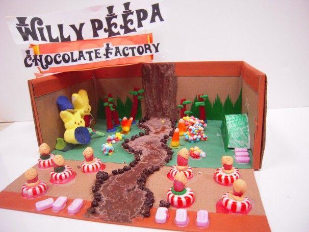 Kids Diorama With Details: Kid-created Peeps (2012 Peeps Contest Bonus Gallery