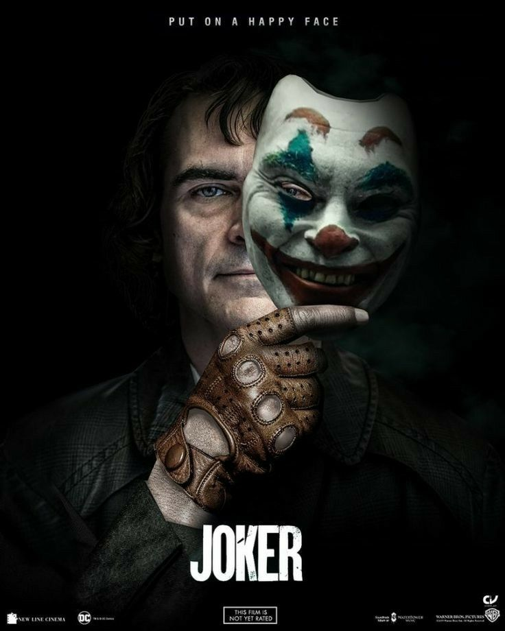Pin By Always On Joker With Images Joker Mask Joker Poster