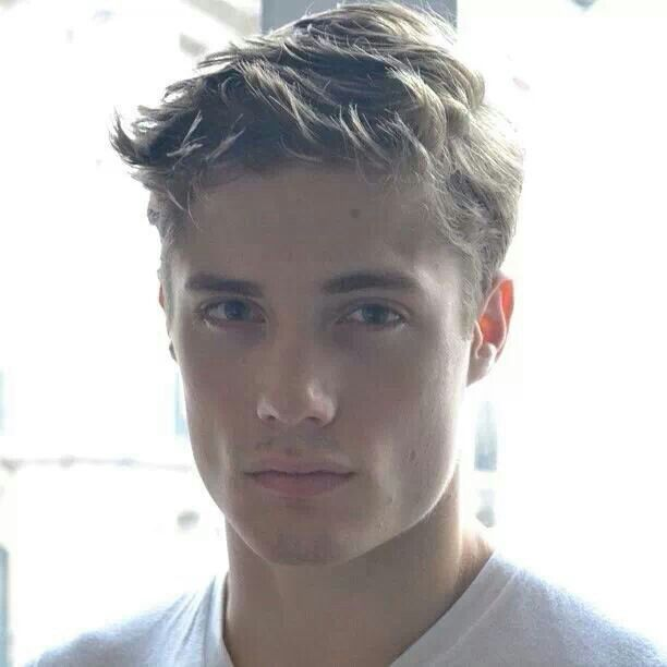Steven Chevrin. Up-and-coming French model. Ooh la la! I'll take one to go...