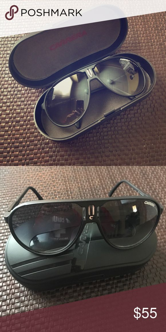 Black Carrera Sunglasses Gently worn - no scratches comes with case Carrera Accessories Sunglasses