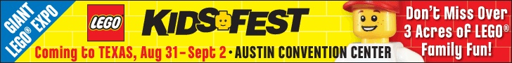 LEGO KidsFest Texas at the Austin Convention Center