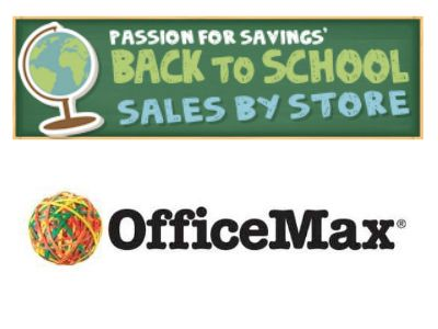 This list is updated each week with the best Office Max Back to School Deals! Be sure to Repin so you can find it easily!