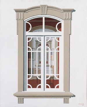 Window,  by #portuguese painter Maluda