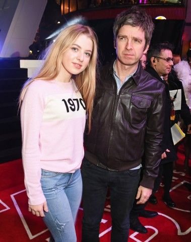 Anais Gallagher, 17 anni, e Noel Gallagher, 49, a Londra.