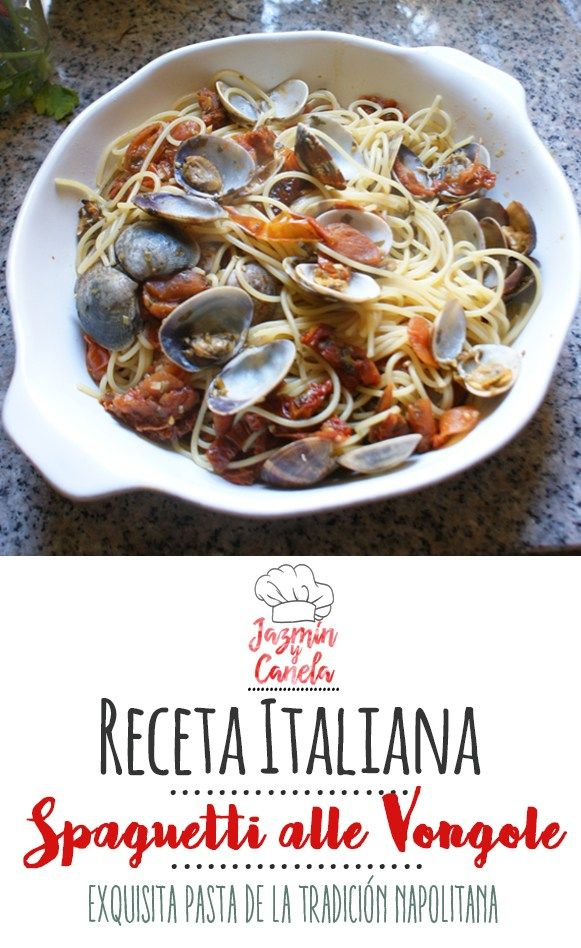 Cómo hacer Espaguetis a la Vongole