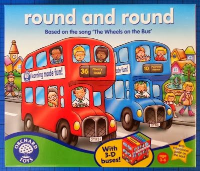 The Brick Castle: Round And Round game by Orchard Toys review