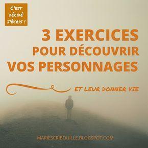 Atelier d'écriture : 3 exercices pour donner vie à vos personnages