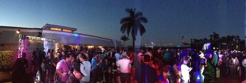 Good times at the @CadillacChamp at the @DoralResort last night with @DJIrie