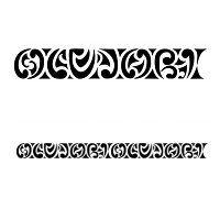Tatuaggio di Maorigramma, Olujobi tattoo - custom tattoo designs on TattooTribes.com