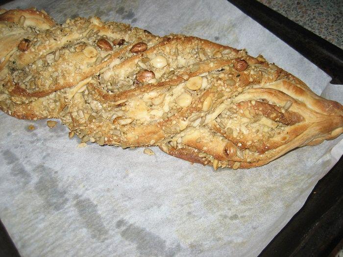 Jak na ořechový pletenec | recept