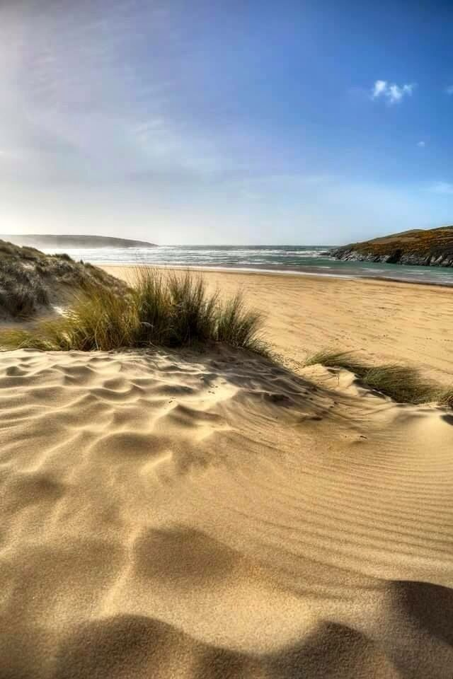 Crantock Beach on Corwall's North Coast