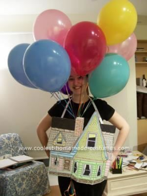 Homemade Flying House from Up Costume