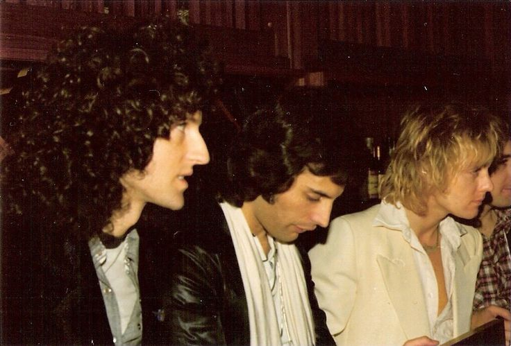 Brian, Freddie, and Roger. I think John is next one down