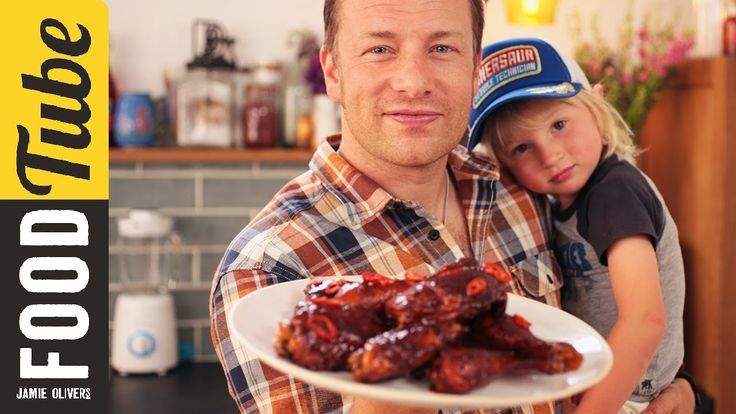 Sticky, sweet, full of flavour and spice this amazing barbecue sauce recipe will rock your world! Jamie got some help making it today when little Buddy Olive...