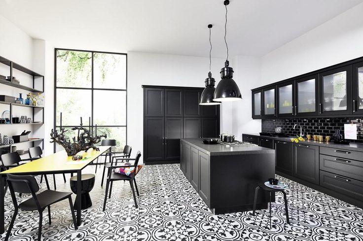 Połączenie stylowej kuchni i elementów loftowych - Nolte Windsor