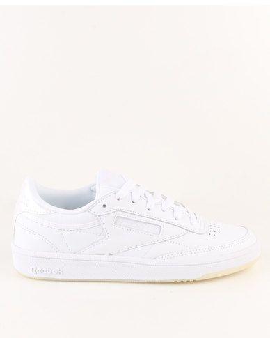 Reebok Club C 85 Leather Sneaker White