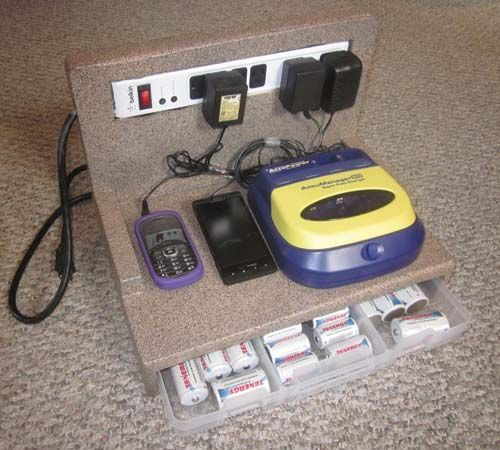 Build Your Own Battery Charging Station Self Sufficiency