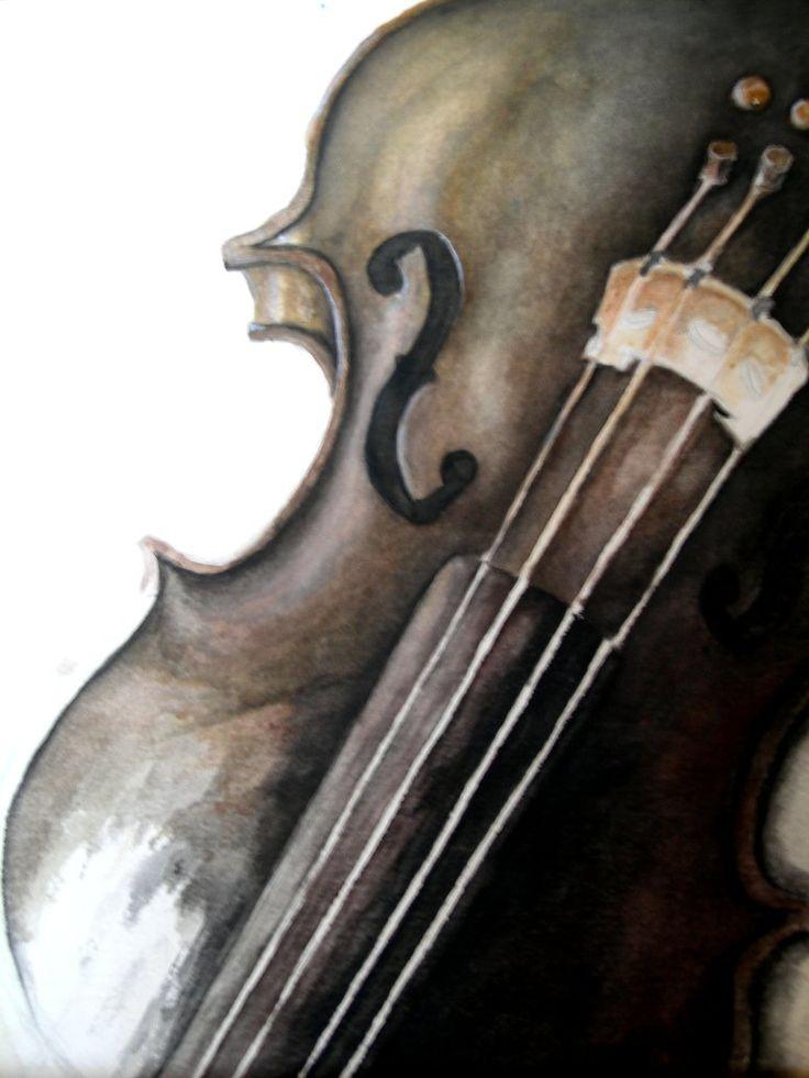 unfinished violin by jamarante