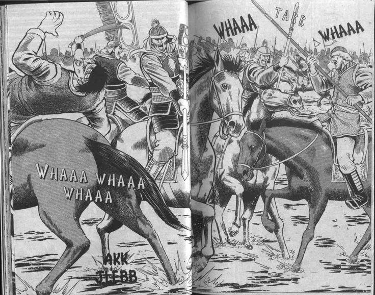 Pasukan Istana vs Penunggang Kuda